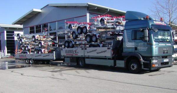 Alles über Kleinboote Bootsanhänger und Slipwagen
