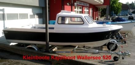 Kleinboote Kaj�tboot Wallersee 520
