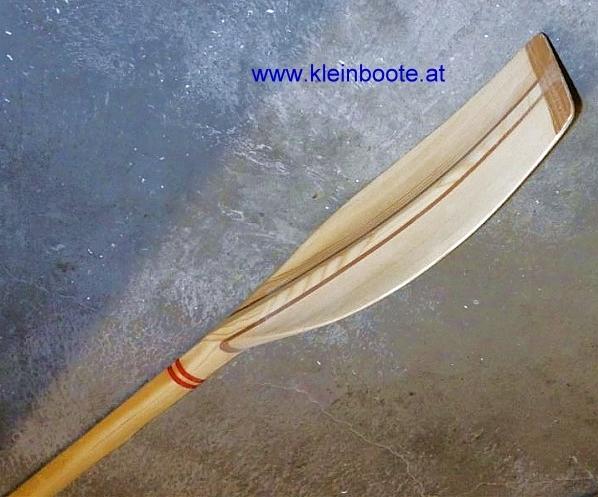 Ruder-Riemen, 3 Sorten Holz, gekehltes Blatt