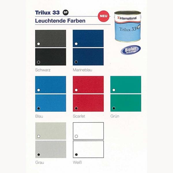 International Farben.International Antifouling Trilux 33 Dose 750 Ml Verschiedene Farben
