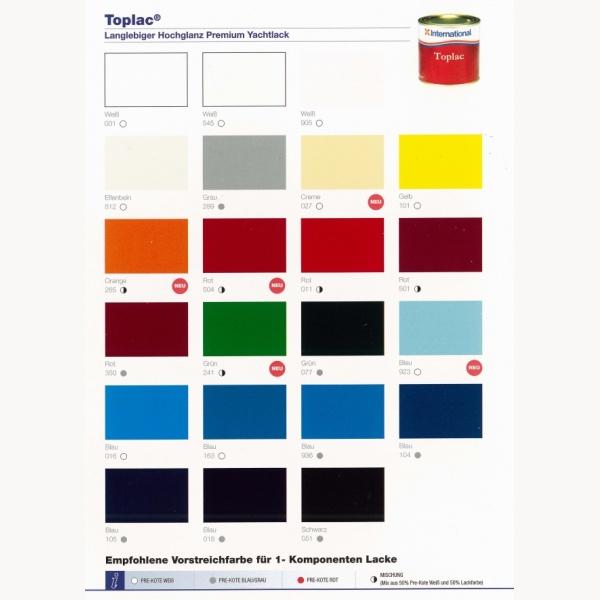 International Farben.International 1k Bootslack Toplac Dose 750 Ml