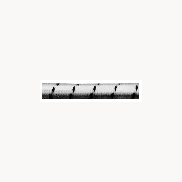 gummileine 8mm schwarz wei preis pro meter gummiseil. Black Bedroom Furniture Sets. Home Design Ideas