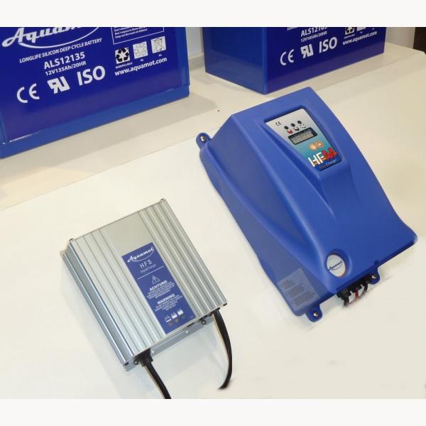 Batterieladegerät Aquamot AquaCharger HFM 4820, 48V, 20A