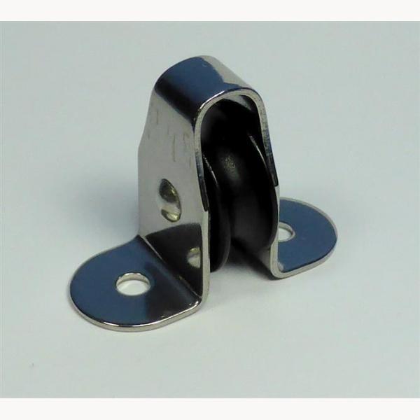 aufbaublock f r leine umlenkrolle seilf hrung niro f r leine max 6mm rolle dur. Black Bedroom Furniture Sets. Home Design Ideas