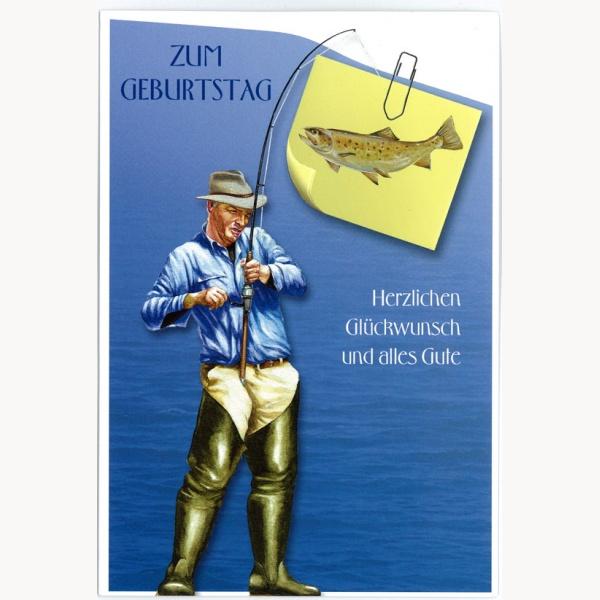 Geburtstag Gl 252 Ckwunschkarte F 252 R Fischer Mit Kuvert