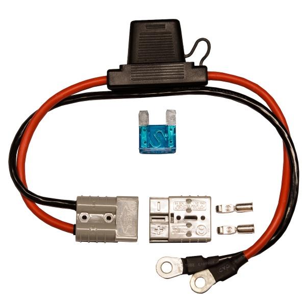 rebelcell quick connect kabel anschlusskabel f r motor oder ladeger t an akku mit 60a s. Black Bedroom Furniture Sets. Home Design Ideas