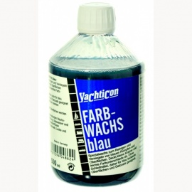 Yachticon Farbwachs blau, 500 ml