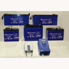 AGM Batterie ALS12200 Aquamot Longlife Silicon Deep Cycle, 200 Ah, 12 V (AGM, Vlies, SLA), Premiumqualität