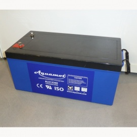 AGM Batterie ALS12260 Aquamot Longlife Silicon Deep Cycle, 260 Ah, 12 V (AGM, Vlies, SLA), Premiumqualität