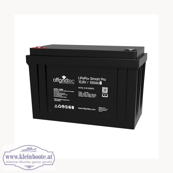 Lithium Batterie, LiFePO4 Akku, 12V, 100Ah, 1280Wh, parallel skalierbar, mit BT und Handy APP