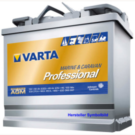 AGM Batterie VARTA AGM Professional Deep Cycle, 12 V, 150 Ah, top Qualität